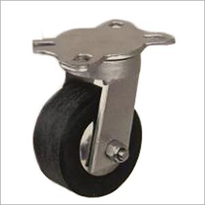 4X2 Inch Swivel Medium Duty 50 X 100 Hole PCD UHMW Wheel