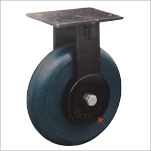 Outer Thread Guard Fixed Heavy Duty Castor Wheel