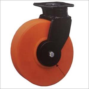 Outer Thread Guard Swivel Forged Castor Wheel