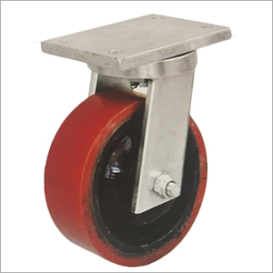 Swivel Head PU Castor Wheel