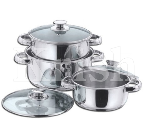 Encapsulated Regular Casserole with Steel Handle