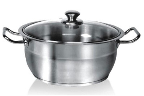 Encapsulated Professional Casserole with Steel Handle