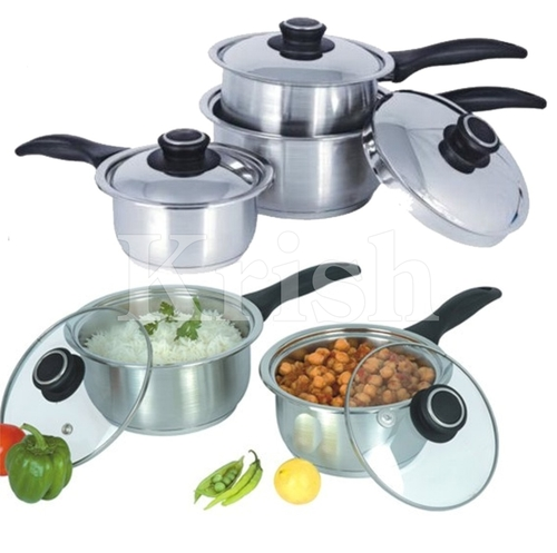 Encapsulated Millennium Sauce Pan with Steel Handle