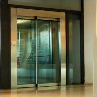 Full Glass Elevator Door