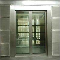 SS Auto Glass Door