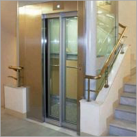 Vision Panel Glass Elevator Door