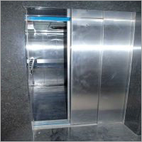 SS Telescopic Automatic Door