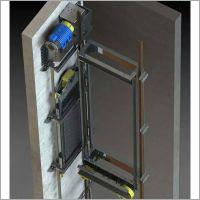 MRL Gearless MC Car Frame Weight Frame Operation