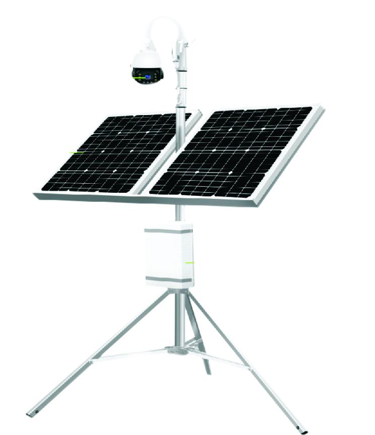 Solar & Battery CCTV Camera ICL-PS08 02SM