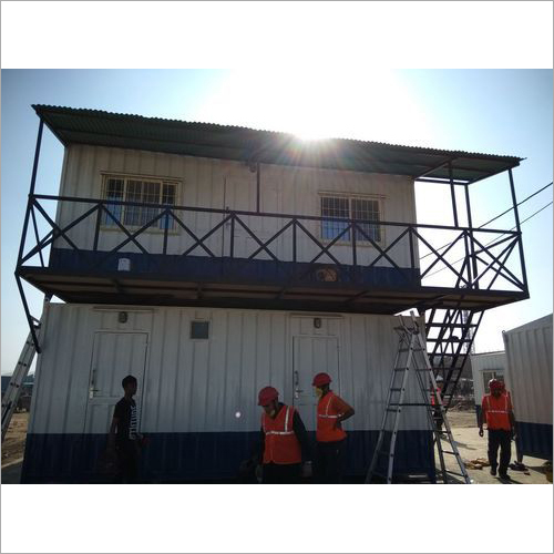 Galvanized Portable Site Office Cabin