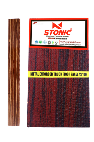 Metal Enforced Truck Flooring Plywood