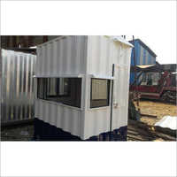 Galvanized Iron Security Cabin