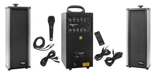 80 Watts Portable System With USB,Bluetooth,Recording & 2 External Speaker