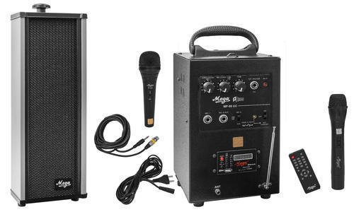 40 Watts Portable System With Cordless Mike & 1 External Speaker