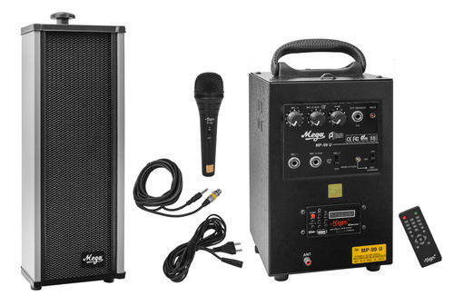40 Watts Portable System With 1 External Speaker