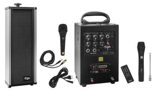 40 Watts Portable System Cordless Mike, Echo,Bluetooth,USB, Recording With 1 External Speaker