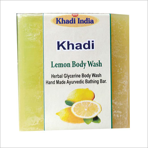 Lemon Body Wash Bath Soap