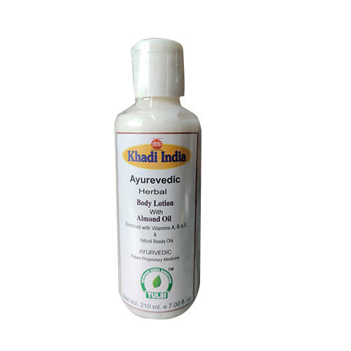 Tulsi with Almond Oil Body Lotion