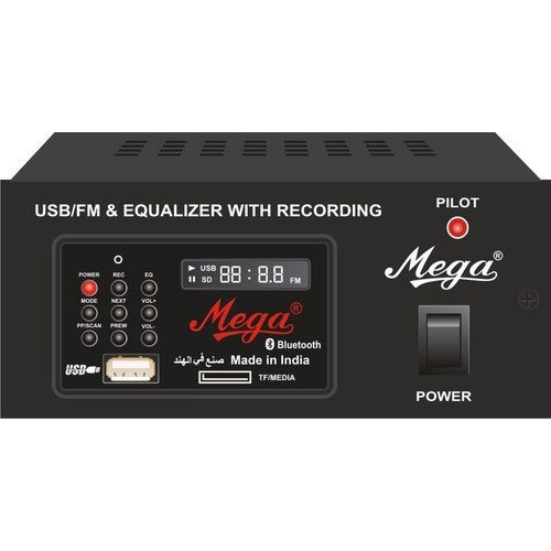 Usb Player Amplifier With Bluetooth And Recording Facility