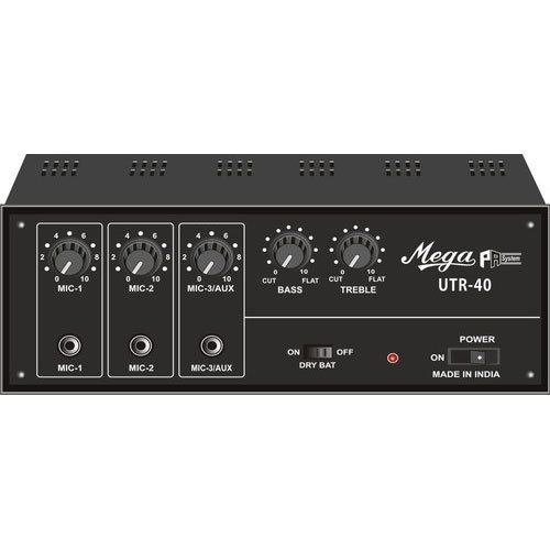 40 W Power Amplifier With USB And Recording Facility