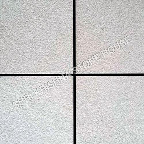 Gwalior White Short Blasted Stone