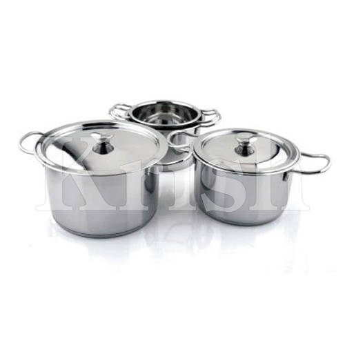 Encapsulated Indian Pan Style Casserole with steel Lid