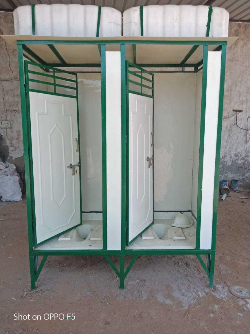 Two Seater Toilet Cabins