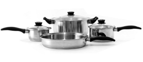 Encapsulated Regular Cookware set with Handles- 7/8/10/12 Pcs Set
