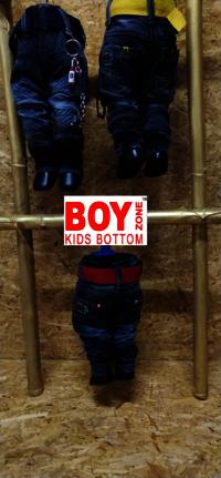 Kids Cargo Jeans