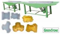 Paver Block Machine Green stone