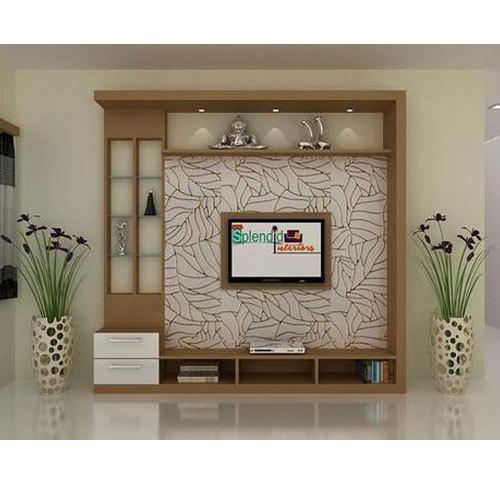 Wooden Tv Unit