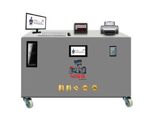 VM220 - Digital Automatic Hydro OXY Carbon Cleaning Machine