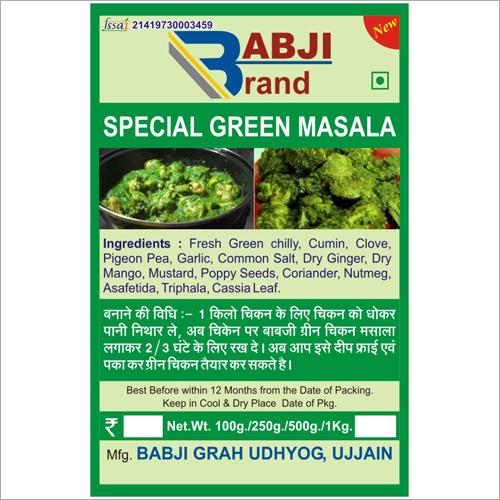 Special Green Masala