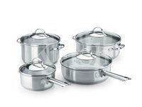 Encapsulated Super Cookware Set with Steel Handles/8/10/12 Pcs Set