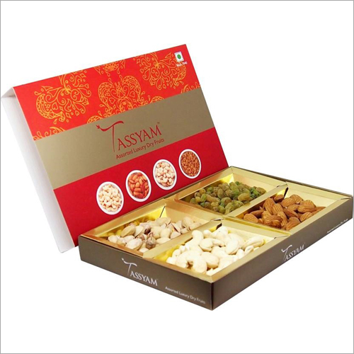 Printed Dry Fruits Packing Box