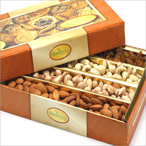 4 Compartment Dry Fruits Packing Box