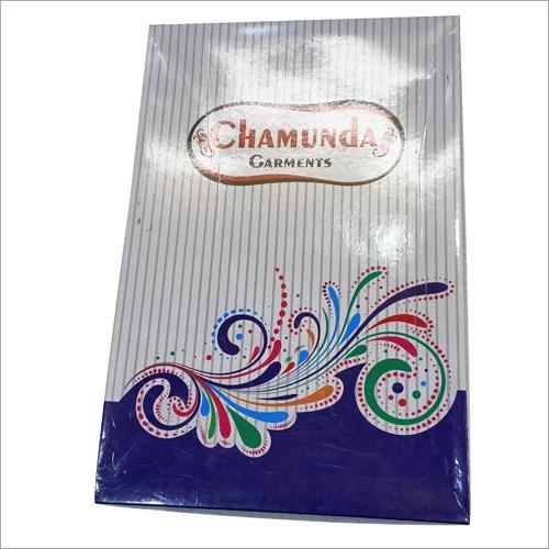 Laminated Material Printed Paper Garment Packaging Box