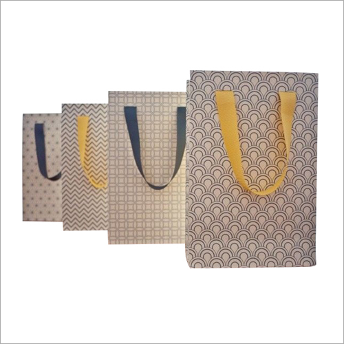 Designer Loop Handle Paper Carry Bag