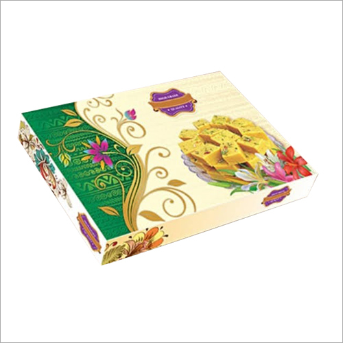 Craft Paper Sweets Packaging Box