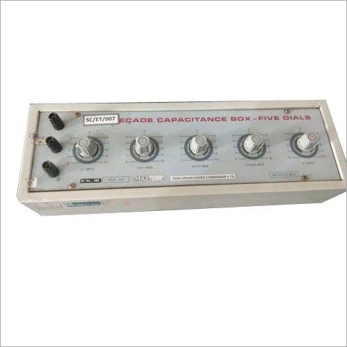 Capacitance Decade Box Calibration Service