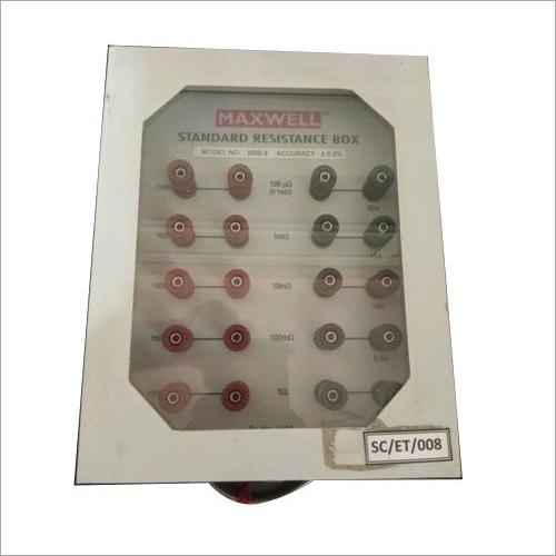 Standard Decade Resistance Box