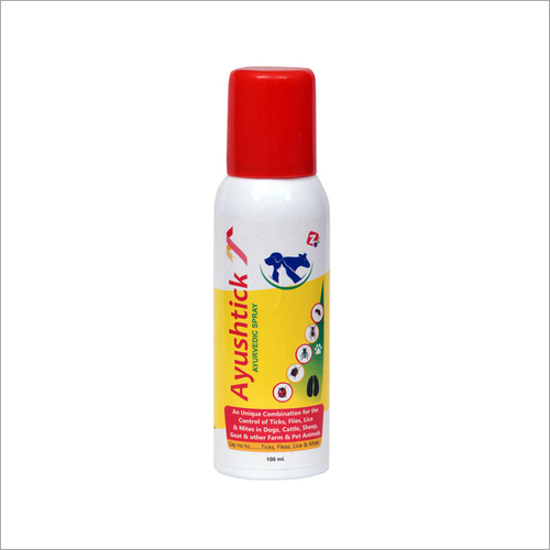 Ayurvedic Herbal Spray for Ticks