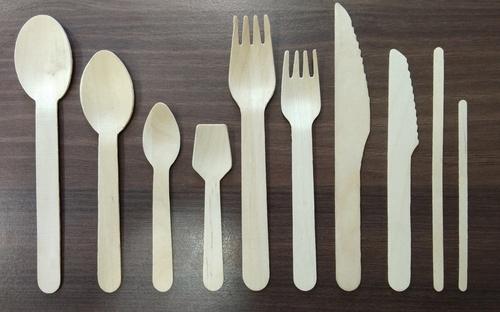 Disposable Wooden Spoon, Fork,Knife,Stirrer