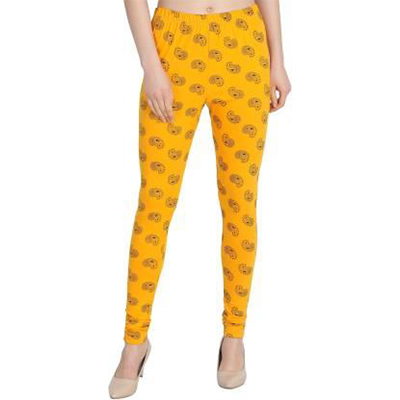 Printed Ankle Churidaar Legging