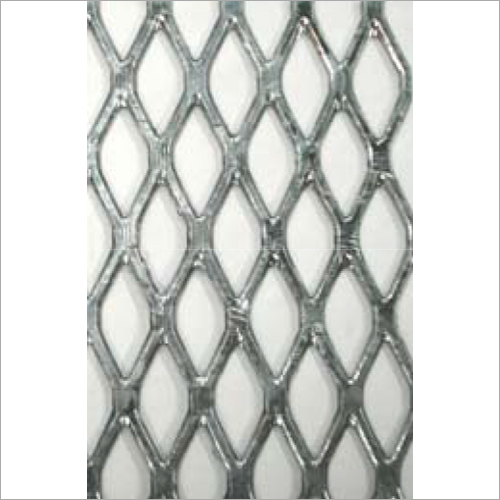 0.75 Inch Flattened Carbon Steel Mesh