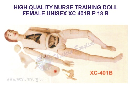 HIGH QUALITY NURSE TRAINING DOLL FEMALE UNISEX