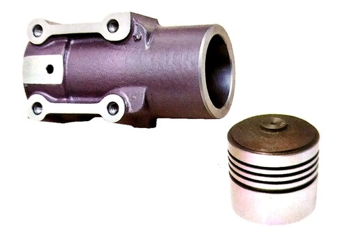 Ram Cylinder With Piston 76mm Grey