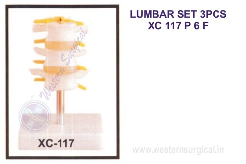 LUMBAR SET 3PCS