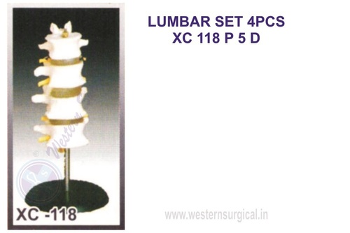 LUMBAR SET 4PCS