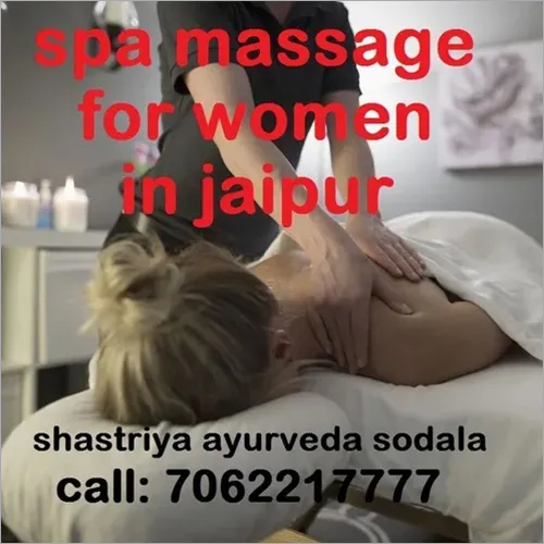 spa massage for women in jaipur